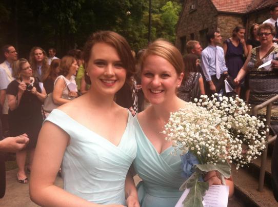Bridesmaid Buddies at a recent wedding